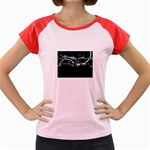 City of the Apocalypse Goth Night Women s Cap Sleeve T-Shirt