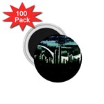 City of the Apocalypse Goth Night 1.75  Magnet (100 pack)