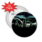 City of the Apocalypse Goth Night 2.25  Button (10 pack)