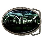 City of the Apocalypse Goth Night Belt Buckle