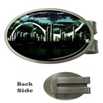 City of the Apocalypse Goth Night Money Clip (Oval)