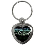City of the Apocalypse Goth Night Key Chain (Heart)