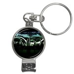 City of the Apocalypse Goth Night Nail Clippers Key Chain
