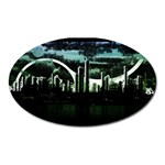 City of the Apocalypse Goth Night Magnet (Oval)