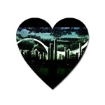 City of the Apocalypse Goth Night Magnet (Heart)
