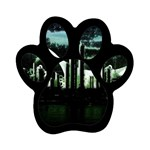 City of the Apocalypse Goth Night Magnet (Paw Print)