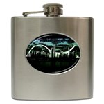 City of the Apocalypse Goth Night Hip Flask (6 oz)