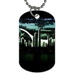 City of the Apocalypse Goth Night Dog Tag (Two Sides)