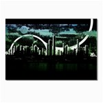 City of the Apocalypse Goth Night Postcard 4 x 6  (Pkg of 10)