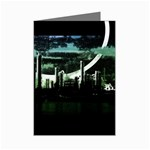 City of the Apocalypse Goth Night Mini Greeting Cards (Pkg of 8)