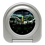 City of the Apocalypse Goth Night Travel Alarm Clock