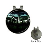 City of the Apocalypse Goth Night Golf Ball Marker Hat Clip