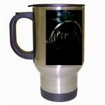 City of the Apocalypse Goth Night Travel Mug (Silver Gray)