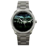 City of the Apocalypse Goth Night Sport Metal Watch