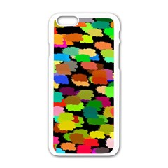 Colorful Paint On A Black Background           Motorola Moto E Hardshell Case by LalyLauraFLM
