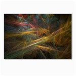 Pastel Spikes on Black Fractal Postcards 5  x 7  (Pkg of 10)