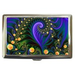 Blue Green Snails Under Sea Fractal Cigarette Money Case