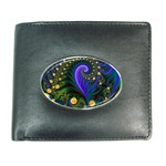 Blue Green Snails Under Sea Fractal Wallet