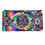 Blue Ray Transcendance Grid - Pencil Case