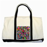 Positive Intention - Two Toned Tote Bag