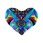 The Cure - Standard 16  Premium Flano Heart Shape Cushion