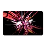 Pink Goth Spider Fingers on Black Magnet (Rectangular)