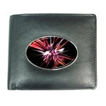 Pink Goth Spider Fingers on Black Wallet