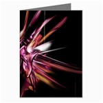 Pink Goth Spider Fingers on Black Greeting Cards (Pkg of 8)