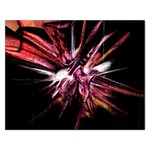 Pink Goth Spider Fingers on Black Jigsaw Puzzle (Rectangular)