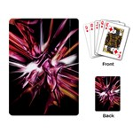 Pink Goth Spider Fingers on Black Playing Cards Single Design