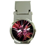 Pink Goth Spider Fingers on Black Money Clip Watch