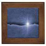 Light in The Wall Goth Punk Fantasy Framed Tile