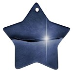 Light in The Wall Goth Punk Fantasy Ornament (Star)
