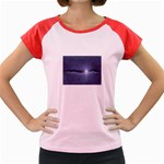 Light in The Wall Goth Punk Fantasy Women s Cap Sleeve T-Shirt