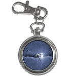 Light in The Wall Goth Punk Fantasy Key Chain Watch