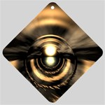 Digital Future Storm Eye Fantasy Car Window Sign