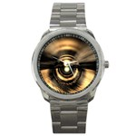 Digital Future Storm Eye Fantasy Sport Metal Watch
