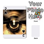 Digital Future Storm Eye Fantasy Playing Cards 54 Designs