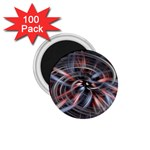 Flower Blooming in a Digital World 1.75  Magnet (100 pack)