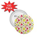 Summer Fruits Pattern 1.75  Buttons (100 pack)  Front