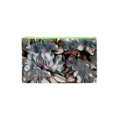 Elegant Flowers B Cosmetic Bag (xs) by MoreColorsinLife