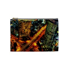 Hdri City Cosmetic Bag (medium)  by BangZart