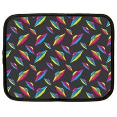 Alien Patterns Vector Graphic Netbook Case (xl)  by BangZart