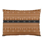 Brown Modern Mudcloth Pillow Case (Two Sides)