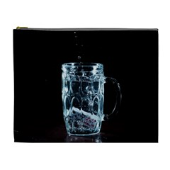 Glass Water Liquid Background Cosmetic Bag (xl) by BangZart