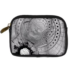 Fragmented Fractal Memories And Gunpowder Glass Digital Camera Cases by jayaprime