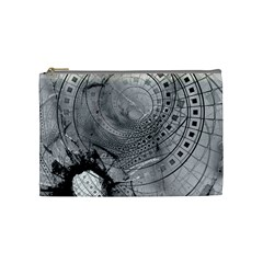 Fragmented Fractal Memories And Gunpowder Glass Cosmetic Bag (medium)  by jayaprime