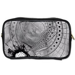 Fragmented Fractal Memories And Gunpowder Glass Toiletries Bags 2 Side by jayaprime
