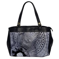Fragmented Fractal Memories And Gunpowder Glass Office Handbags by jayaprime