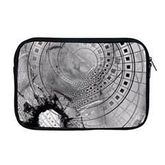 Fragmented Fractal Memories And Gunpowder Glass Apple Macbook Pro 17  Zipper Case by jayaprime
